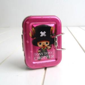 원피스 쵸파 틴케이스S-핑크