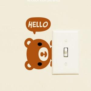 [아빠곰스티커]안녕곰