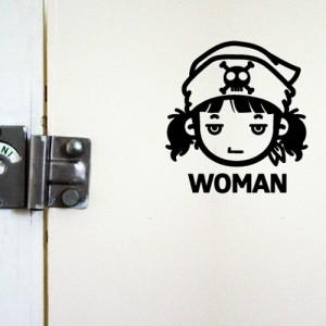 [아빠곰스티커]화장실남녀_해적