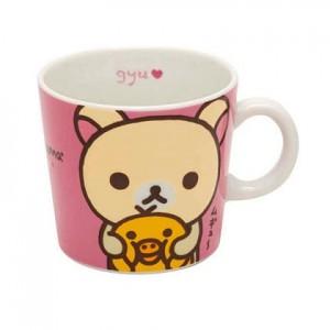 리락쿠마 머그컵(핑크)
