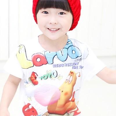 라바 버블껌 반팔 티셔츠(2color)