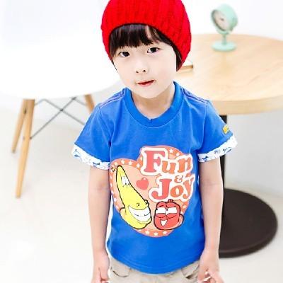 라바 Fun & Joy 반팔 티셔츠(2color)
