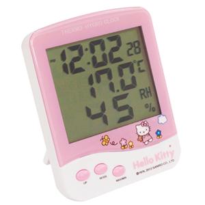 [30%할인]헬로키티 온습도계(시계겸용) HK-203
