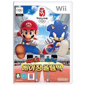 닌텐도 Wii 마리오 소닉 베이징 올림픽