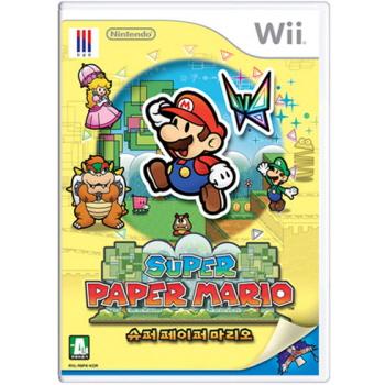 닌텐도 Wii 슈퍼 페이퍼 마리오