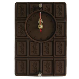 달콤한 초콜릿 입체고무 탁상시계