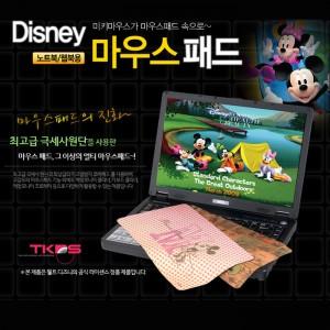 [디즈니 마우스패드]TKDS D8509 정품 캐릭터 마우스패드/미키/미니/노트북/웹북용