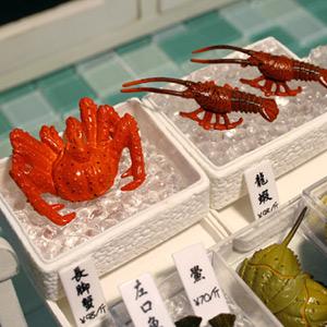식완 미니어쳐 - 해산물시리즈 8종셋트-