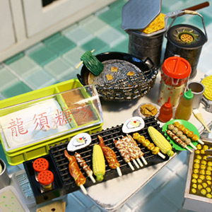 식완 미니어쳐 - 중국 길거리음식 8종셋트-