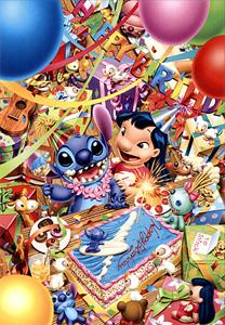 TD 108-998 릴로와 스티치의 생일파티 (디즈니 퍼즐)