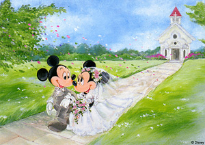 TD 108-841 미키미니 결혼식 (디즈니 퍼즐)