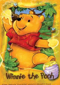 TD 108-952 푸우의 꿀 (홀로크리스탈) (디즈니 퍼즐)