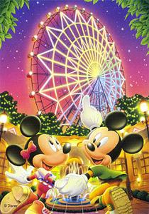 TD 108-960 미키 밤의 놀이공원 (디즈니 퍼즐)