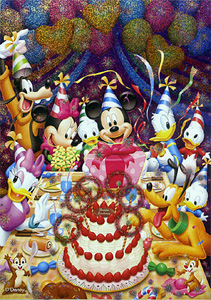 TD 108-961 미키의 생일축하 (홀로그램) (디즈니 퍼즐)