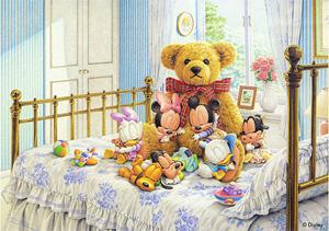 TD 108-962 미키의 천사친구들 (디즈니 퍼즐)