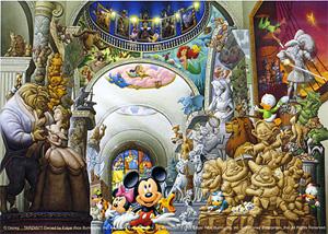 TD 108-959 박물관의 미키 (디즈니 퍼즐)