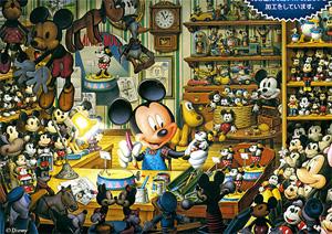 TD 108-938 미키 작업실(야광) (디즈니 퍼즐)