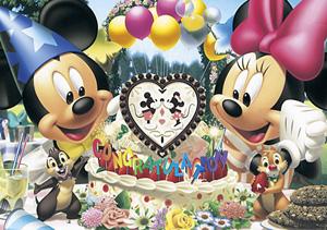 TD 200-890 미키 미니의 생일파티 (디즈니 퍼즐)