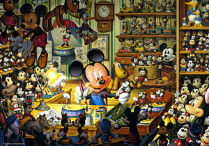 TD 300-127 미키 작업실 (디즈니 퍼즐)