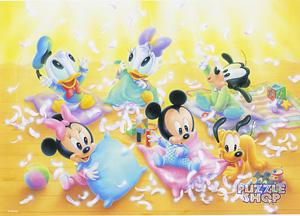 TD 300-166 베이비 미키와 친구들-깃털을 불며 (디즈니 퍼즐)