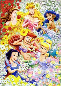 TD 300-203 꽃밭의 공주들 (디즈니 퍼즐)