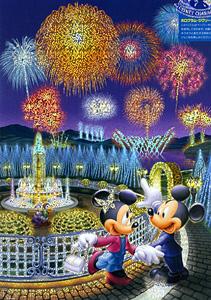 TD 300-221 미키의 불꽃놀이 데이트(야광) (디즈니 퍼즐)
