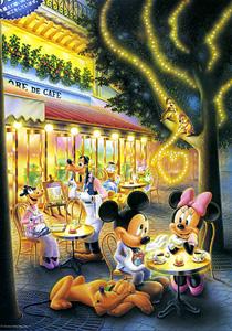 TD 300-160 미키와 미니의 데이트(야광) (디즈니 퍼즐)