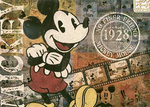 TD 300-219 미키마우스의 추억사진(코르크 퍼즐) (디즈니 퍼즐)