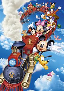 TD 300-235 미키와 친구들의 하늘을 나는 열차여행 (디즈니 퍼즐)
