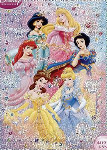 TD 300-224 디즈니 공주들 (홀로그램) (디즈니 퍼즐)