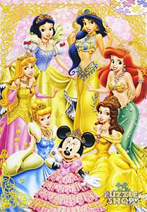 TDSG 500-389 디즈니 공주들-쥬얼리 장식(크리스탈) (디즈니 퍼즐)