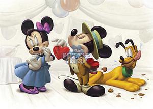 TD 500-413 미키미니 초콜릿 (디즈니 퍼즐)