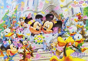 TDSG 500-387 미키미니 결혼 파티(크리스탈) (디즈니 퍼즐)