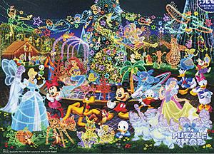TD 500-391 디즈니 친구들-루미나리에(야광) (디즈니 퍼즐)