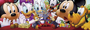 TD 950-590 미키 파티 (와이드 퍼즐) (디즈니 퍼즐)