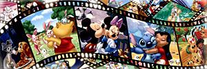 TD 950-582 디즈니 씨네마 천국 (와이드 퍼즐) (디즈니 퍼즐)