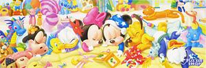 TD 950-586 베이비 미키 가족의 달콤한 낮잠 (와이드 퍼즐) (디즈니 퍼즐)
