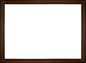 퍼즐 액자 22.5x32cm MDF 브라운