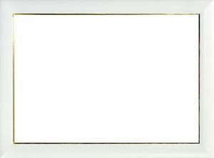 퍼즐 액자 25x36cm 크리스탈 전용 액자 (화이트)