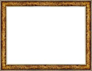 퍼즐 액자 26x38cm 엔틱골드