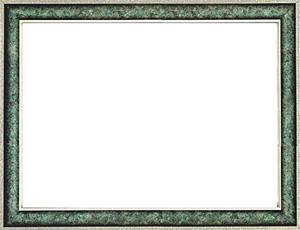 퍼즐 액자 35x49cm 엔틱그린