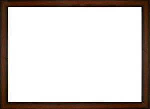 퍼즐 액자 35x49cm MDF 브라운