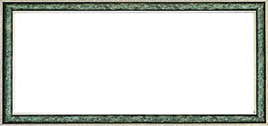 퍼즐 액자 34x102cm 엔틱그린