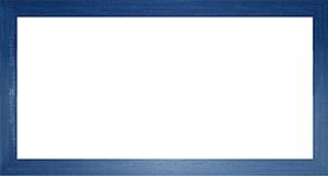 퍼즐 액자 34x102cm MDF 블루