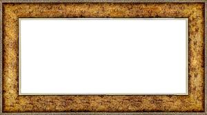퍼즐 액자 34x102cm 엔틱골드 (와이드 프레임)