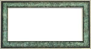 퍼즐 액자 34x102cm 엔틱그린 (와이드 프레임)