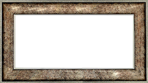퍼즐 액자 34x102cm 엔틱실버 (와이드 프레임)