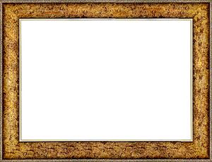 퍼즐 액자 50x75cm 엔틱골드 (와이드 프레임)