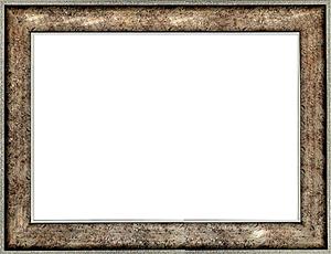 퍼즐 액자 50x75cm 엔틱실버 (와이드 프레임)