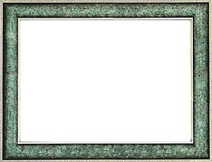 퍼즐 액자 73x102cm 엔틱그린 (와이드 프레임)
